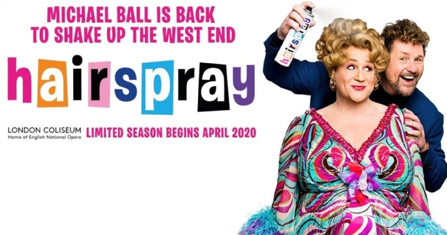 Hairspray The Musical starring Michael Ball as Edna Turnblad