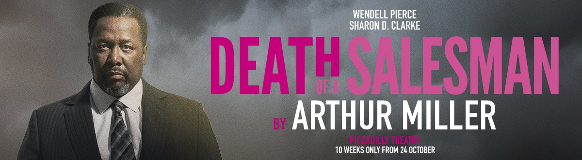 Death of A Salesman at the Piccadilly Theatre, London