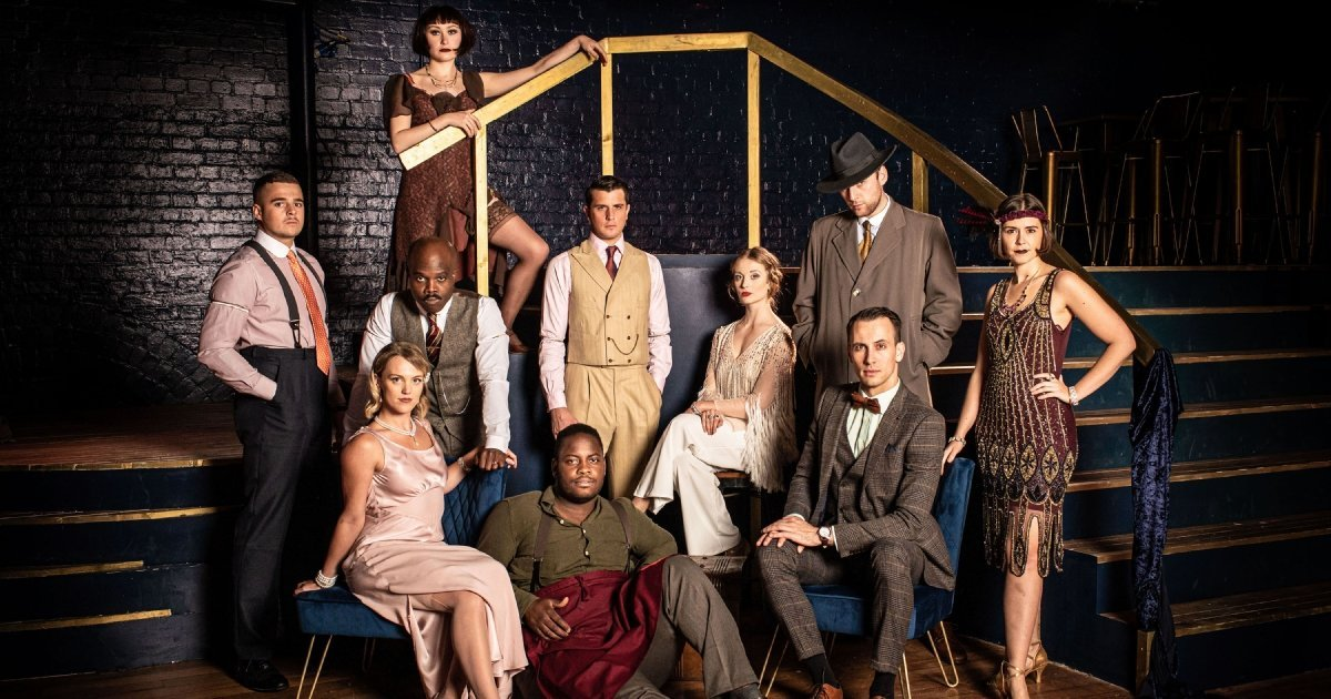 The Great Gatsby at Immersive LDN - Company - c Helen Maybanks.
