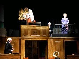 Cause Célèbre at Hampton Hill Theatre - Photo by Cath Messum