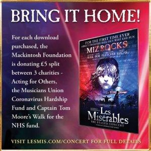 Les Misérables -The Staged Concert Charity