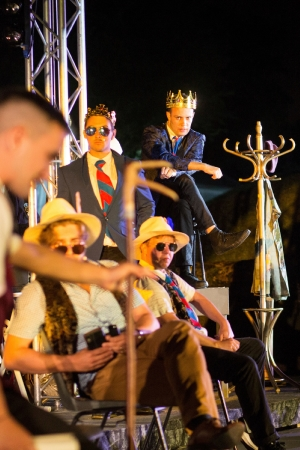 HENRY V by Maltings Open Air Theatre Festival company. Photo credit lhphotos