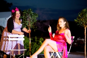 MERRY WIVES at Maltings Open Air Theatre Festival August 2020. Photo by Laura Harling