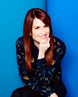 Megan Mullally by Ramona Rosales.