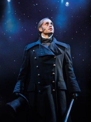 Bradley Jaden as Javert - Photographer Johan Persson.