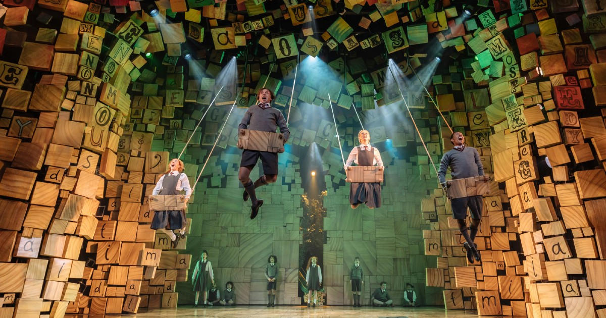 The RSC's Matilda The Musical - Sept 2019.